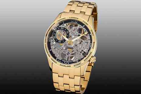 Groupon Goods Global GmbH - Theorema Mechanical Watch Monte Carlo With Free Delivery - Save 0%