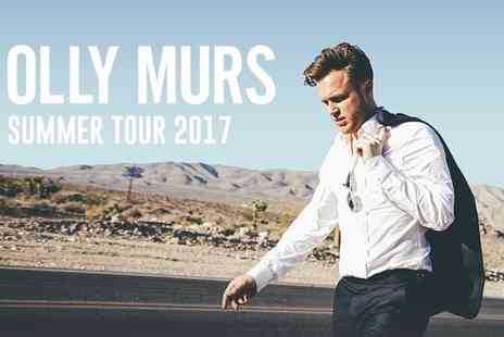 Olly Murs Summer Tour - Tickets to Olly Murs Summer Tour on 12 August 2017 - Save 0%