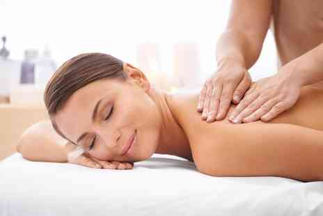Baroque Hair and Beauty - Full Body Aromatherapy Massage with Optional Facial Massage, File and Polish - Save 65%
