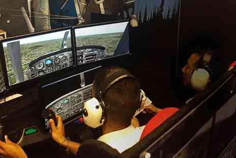 Fly By Light - Flight Simulator Experience for One or Two - Save 0%