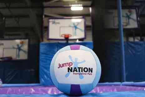Jump Nation - One Hour Jump Session for Up to Four - Save 44%