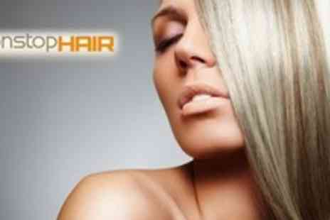 Nonstop Hair Salon - Half Head Highlights With Cut and Blow Dry - Save 63%