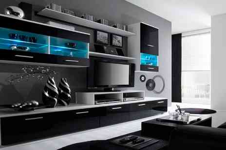 Groupon Goods Global GmbH - High Gloss TV and Storage Systems With Free Delivery - Save 40%