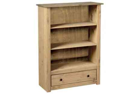 Groupon Goods Global GmbH - Vida Designs Panama One Drawer Bookcase With Free Delivery - Save 0%