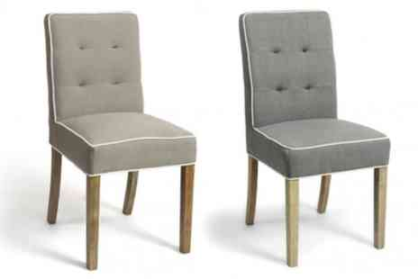 Groupon Goods Global GmbH - Valiant Dining Chairs With Free Delivery - Save 0%