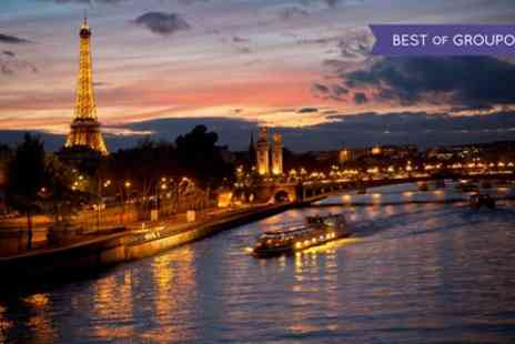 Hotel Le Canal - One, Two or Three Nights Stay for Two with a Welcome Drink and Options for Breakfast and the Seine Cruise - Save 8%