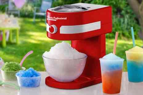 Groupon Goods Global GmbH - Cooks Professional Ice Slushy Maker With Free Delivery - Save 58%