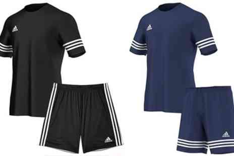 Salvador company - Adidas Entrada Sports T Shirt and Shorts Set With Free Delivery - Save 0%