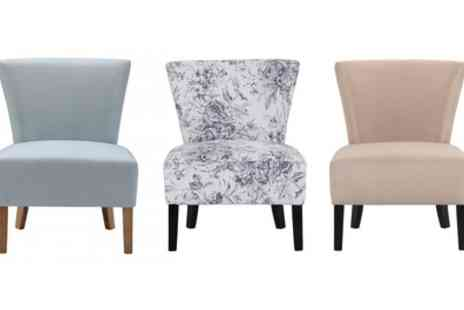 Groupon Goods Global GmbH - Austral Accent Chair With Free Delivery - Save 50%