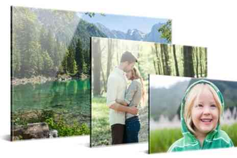 Photo Gifts - Personalised Acrylic Photo Print - Save 75%