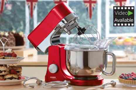 Groupon Goods Global GmbH - Cooks Professional Die Cast Stand Mixer With Free Delivery - Save 66%