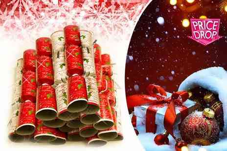 Partikle - 40 Christmas crackers - Save 75%