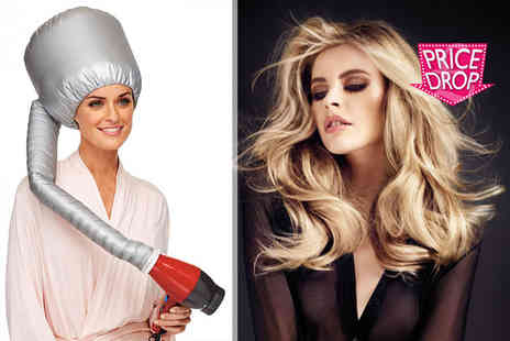 Boni Caro - Hands free bonnet hair dryer - Save 82%