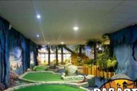 Paradise Island Adventure Golf - 18 Hole Rounds of Adventure Golf - Save 60%
