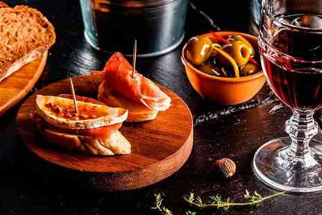 Mercado - Five sharing tapas and two glasses of Sangria for two people - Save 73%