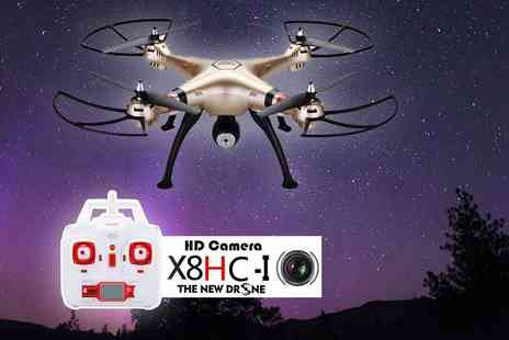 FDS CORPORATION - Syma X8HC 4CH quadcopter drone - Save 60%