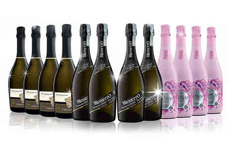 San Jamon -12 bottles of award winning organic Prosecco - Save 47%
