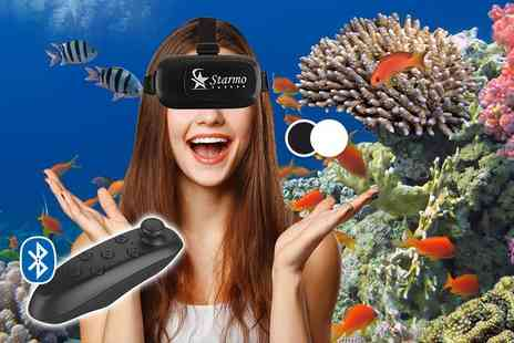UK Home & Garden Store - Virtual reality headset choose from two colours - Save 83%