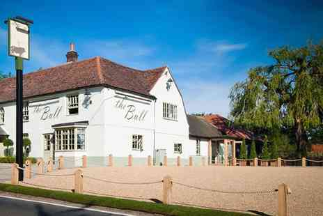 The Bull and Willow Room - Local Gem 2 AA Rosette 3 Course Meal & Bubbly for 2 - Save 48%