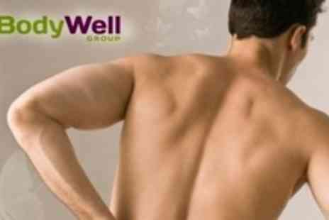 The BodyWell Group - Chiropractic Treatment Package With Examination, Deep Tissue Massage - Save 91%