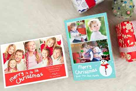 Photobook - 20, 50 or 100 Personalised Flat or Folded Greeting Cards - Save 0%