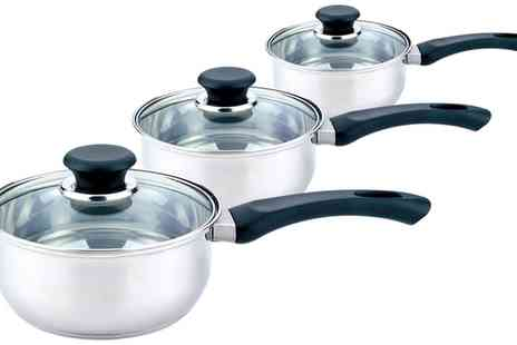 Groupon Goods Global GmbH - Three Piece Pan Set - Save 0%