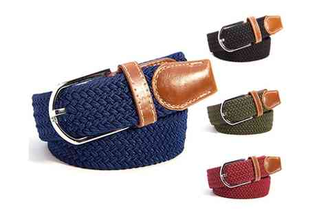 Groupon Goods Global GmbH - Braided Belt in Choice of Colour - Save 0%