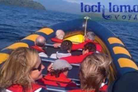 Loch Lomond Boat Hire - One Hour Loch Lomond Speed Boat Trip For Four - Save 58%
