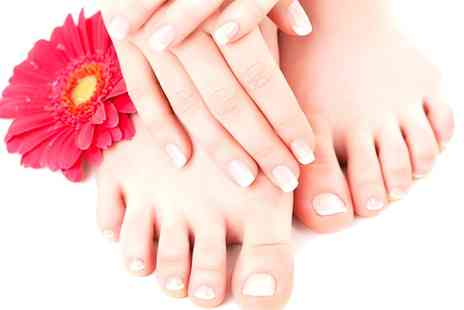Pura Vida - Shellac Manicure or Pedicure or Both - Save 68%