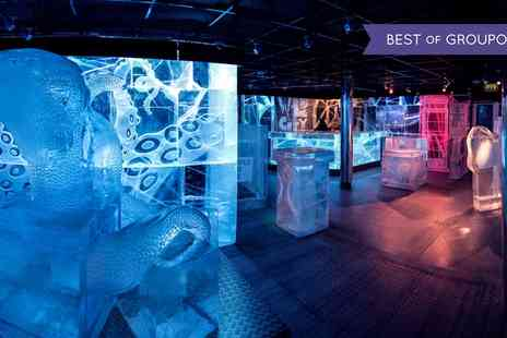 ICEBAR LONDON - Three Course Meal and Icebar Experience with Champagne or Cocktail for Up to Six - Save 31%