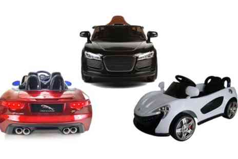 Groupon Goods Global GmbH - Kids Electric Ride On Car with Remote Control Include Free Delivery - Save 10%