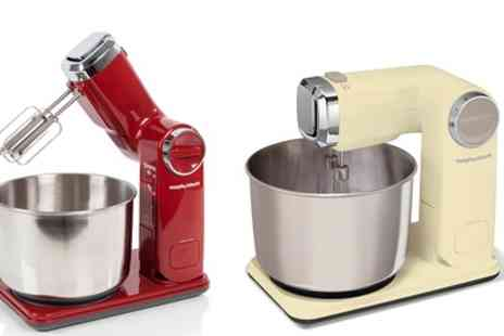 Groupon Goods Global GmbH - Morphy Richards Folding Stand Mixer 300W With Free Delivery - Save 60%