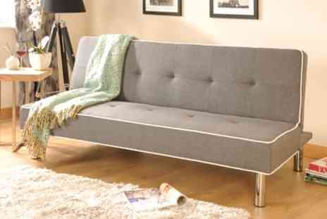 Groupon Goods Global GmbH - Meribel Fabric Sofa Bed With Free Delivery - Save 74%