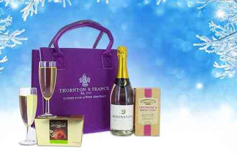 First4Hampers - Christmas hamper for her including sparkling white, truffles and more - Save 46%