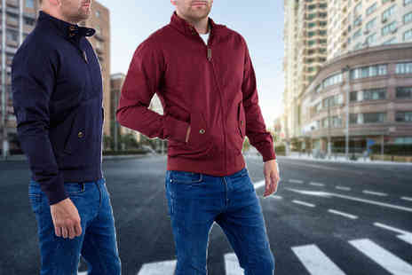 Stallion Clothing - Trendy harrington bomber jacket - Save 0%