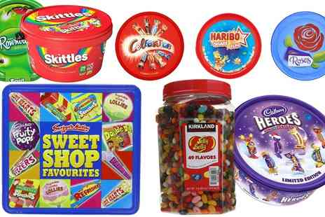 Groupon Goods Global GmbH - One or Two Tubs of Santas Secret Sweets with a Chance to Win a Special Gift  - Save 0%