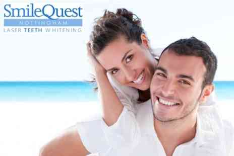 Smile Quest - Laser Teeth Whitening for £79 - Save 68%
