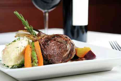 The Crown Pub and Grill - Two Course Steak Meal with Wine or Beer for Up to Four - Save 39%
