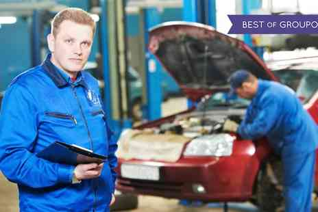 R J Engineering - 62 Point Full Service with Oil and Filter Change and Optional MOT and Air Con Re Gas - Save 66%