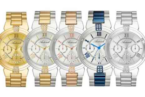 Groupon Goods Global GmbH - Antonelli Steel Selection Womens Watches With Free Delivery - Save 79%