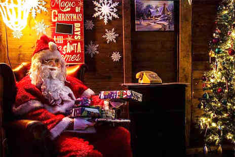 White Moss Nursery and Garden Centre - Entry to Santas grotto with a gift, two hot drinks and two mince pies - Save 49%