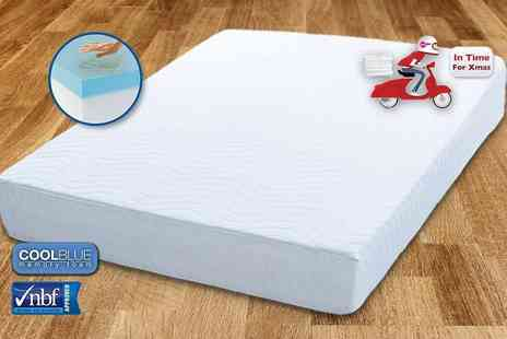 My Mattress Online - Single Comfort CoolBlue memory foam mattress - Save 82%