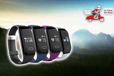 EF Mall - Bluetooth sports activity bracelet choose from four colours - Save 86%