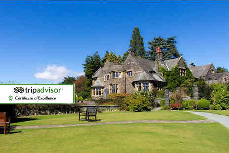 Cragwood Country House Hotel - Overnight Lake District stay for two with breakfast and cream tea - Save 38%