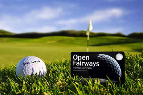 Open Fairways - 12 month Open Fairways multi privilege membership with two magazines - Save 74%