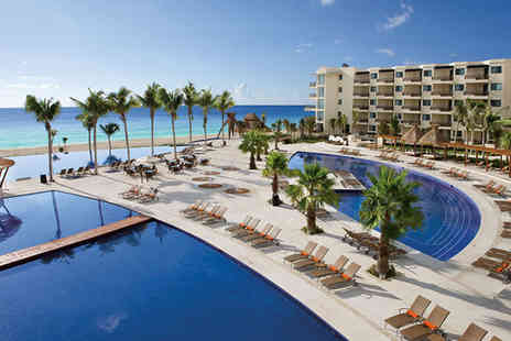 Dreams Riviera Cancun Resort & Spa - Five Star 7 nights Stay in a Premium Deluxe Ocean View Room - Save 67%