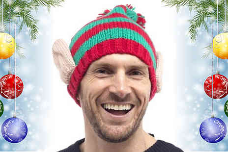 TOP FASHIONS - Mens Novelty Christmas Elf Hat - Save 47%