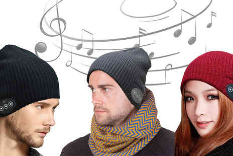 Home Decor Online - Bluetooth Headphones Beanie Hat Three Colours - Save 67%
