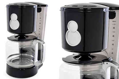 TOP FASHIONS - 12 Cup Coffee Maker - Save 17%