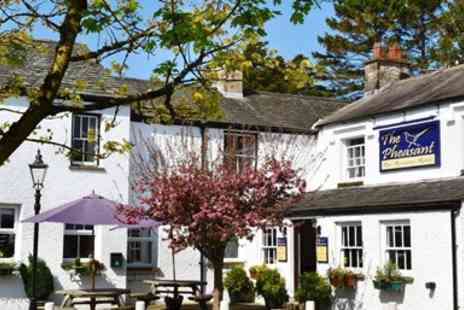 The Pheasant Inn - Two Course Meal for 2 - Save 43%